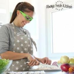 Προστατευτικά Γυαλιά για Κόψιμο Κρεμμυδιών Onion Proof Shield