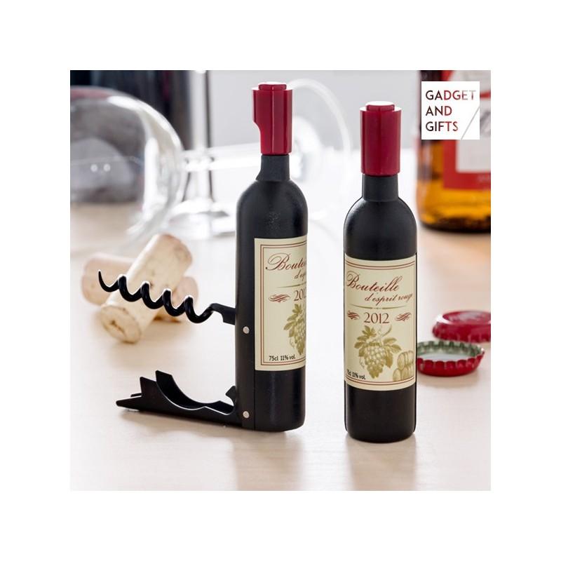 Τιρμπουσόν και Ανοιχτήρι με Μαγνήτη Wine