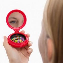 Καθρέφτης Τσάντας με Ενσωματωμένη Βούρτσα Colors