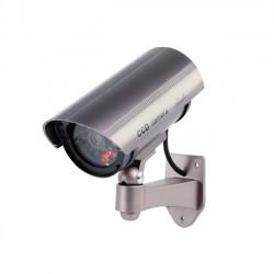 Ομοίωμα ψεύτικη κάμερα ασφαλείας security με LED φωτισμό