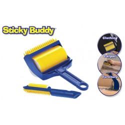Ρολό Καθαρισμού Sticky Buddy – Ξεκολλάει βρωμιές χνούδια και τρίχες από όλες τις επιφάνειες