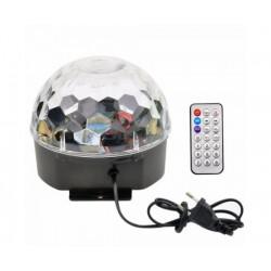 Crystal Magic Ball Light RGB – Φωτορυθμικό