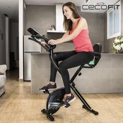 Πτυσσόμενο Μαγνητικό Στατικό Ποδήλατο Cecofit Pro 7016