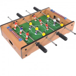 Επιτραπέζιο Ξύλινο Ποδοσφαιράκι 34εκ Με 12 παίκτες