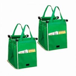 Οικολογικές Τσάντες για Ψώνια Επαναλαμβανόμενης Χρήσης (Σετ 2 τεμαχίων)