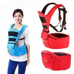 Μάρσιπος Kalemi® με Διπλή Ενίσχυση & Ζώνη Υποστήριξης Hipseat 2 σε 1 - Hip Seat Baby Carrier