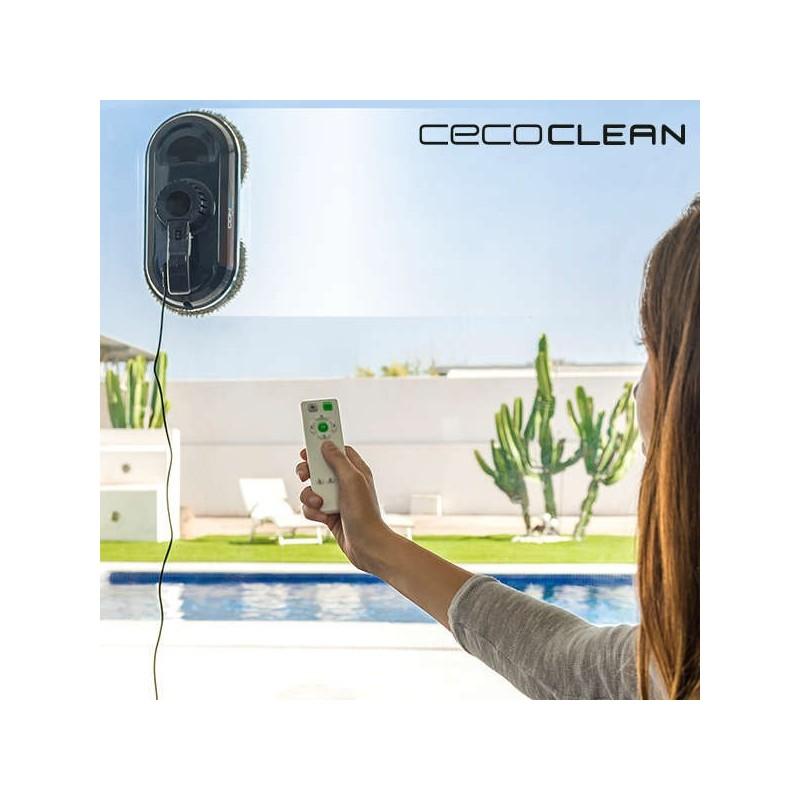 Ρομπότ Καθαρισμού Τζαμιών Cecoclean WinRobot 870 5035 80W Μπλε Μαύρο