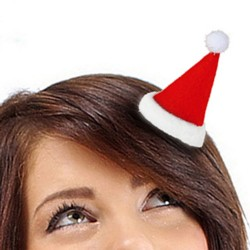 Κλιπ Μαλλιών Καπέλο Άι Βασίλη