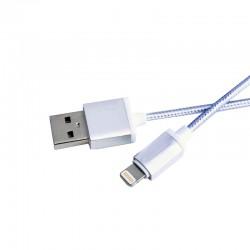 Καλώδιο κορδόνι Φόρτισης και Μεταφοράς Δεδομένων 1m, USB to Lightning(iPhone 5-6)