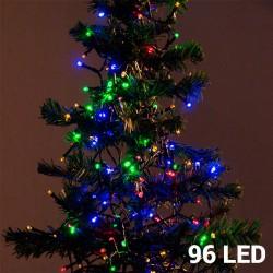 Πολύχρωμα Χριστουγεννιάτικα Φωτάκια (96 LED)