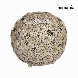 Μπάλα λουλούδι και χρυσή πεταλούδα παλαιωμένη - Art & Metal Συλλογή by Homania