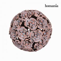 Μεταλλική σφαίρα λουλούδι χάλκινου χρώματος - Art & Metal Συλλογή by Homania