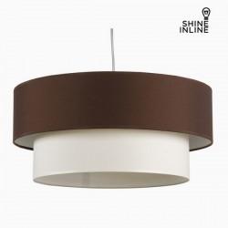 Φωτιστικό Οροφής Καφέ Λευκό Βαμβάκι και πολυεστέρας (20 cm) by Shine Inline