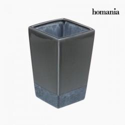 Γκρι κεραμικό βάζο by Homania