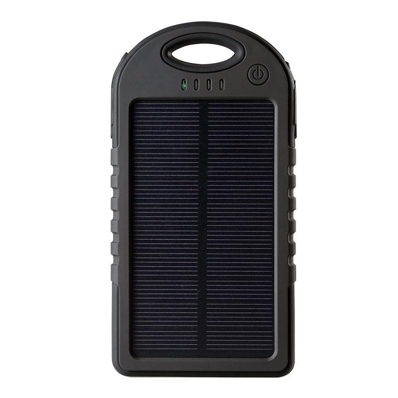 Ηλιακός Αδιάβροχος Φορτιστής 5000mah - Solar Power Bank