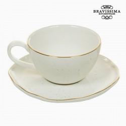 Κούπα με Πιατάκι - Queen Kitchen Συλλογή by Bravissima Kitchen