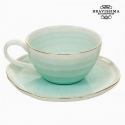 Κούπα με Πιατάκι 250 ml - Queen Kitchen Συλλογή by Bravissima Kitchen