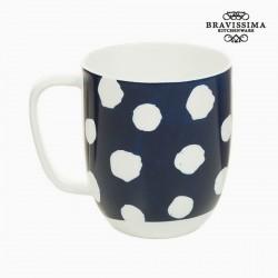 Cup Πορσελάνη Τόπος Λευκό - Kitchen's Deco Συλλογή by Bravissima Kitchen