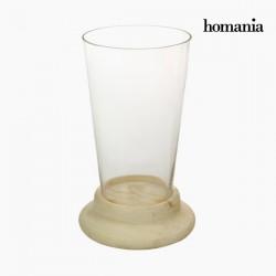 Βάζο Γυαλί Ξύλο - Pure Crystal Deco Συλλογή by Homania
