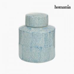 Σκαμπό Tibor Πήλινα Μπλε (18 x 18 x 22 cm) by Homania