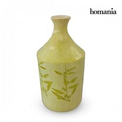 Βάζο Πήλινα (15 x 15 x 30 cm) - Pure Crystal Deco Συλλογή by Homania