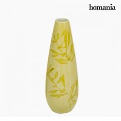 Βάζο Πήλινα (11 x 11 x 32 cm) - Pure Crystal Deco Συλλογή by Homania