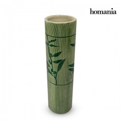 Βάζο Πήλινα (8,5 x 8,5 x 31,5 cm) - Pure Crystal Deco Συλλογή by Homania