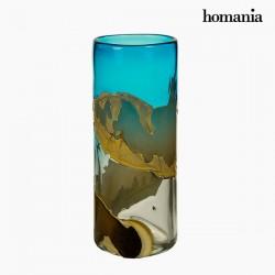 Βάζο Κρυστάλλινο (14 x 14 x 35 cm) - Pure Crystal Deco Συλλογή by Homania