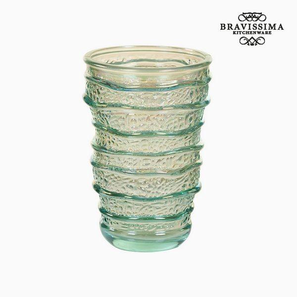 Γυάλινο Ανακυκλωμένο Ποτήρι (8 x 8 x 13 cm) by Bravissima Kitchen