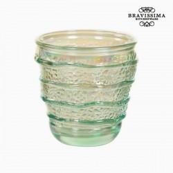 Γυάλινο Ανακυκλωμένο Ποτήρι (9 x 9 x 9 cm) by Bravissima Kitchen