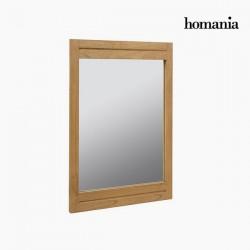 Καθρέφτης Ξύλο mindi by Homania