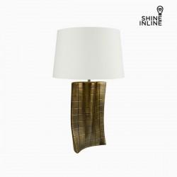 Επιτραπέζιο Φωτιστικό Χρυσό Κεραμικά (40 x 9 x 66 cm) by Shine Inline