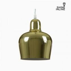 Φωτιστικό Οροφής Χρυσό Σίδερο (16 x 16 x 21 cm) by Shine Inline