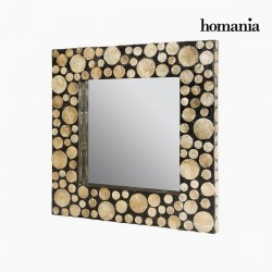 Καθρέφτης Από φίλντισι (54 x 4 x 54 cm) by Homania