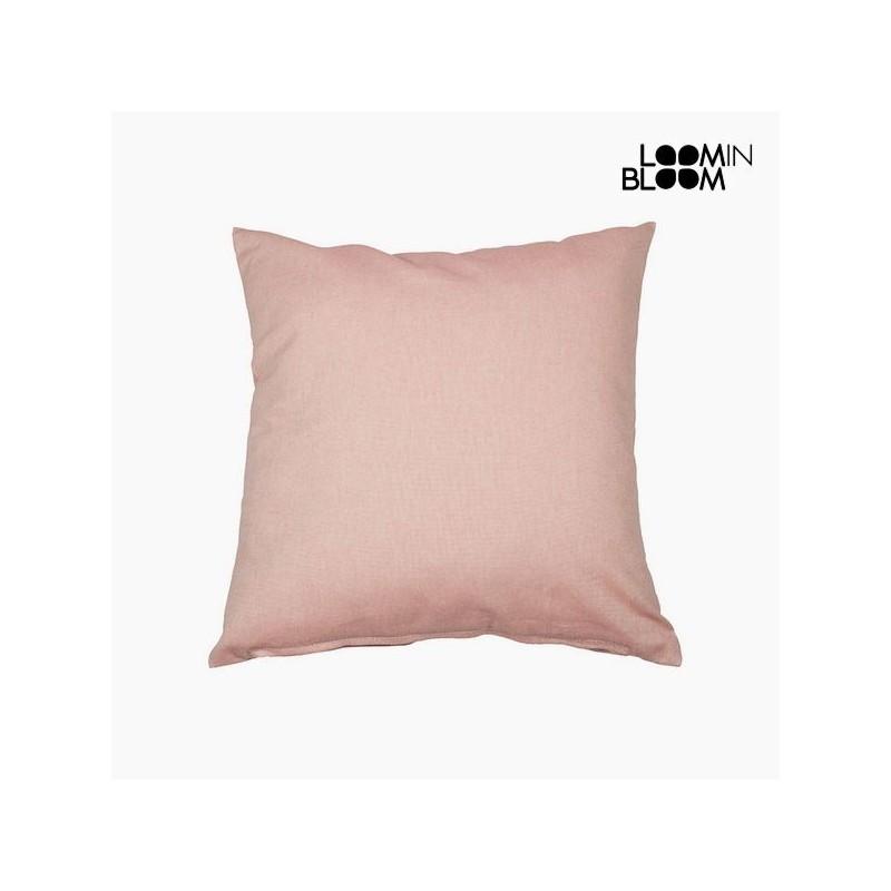 Μαξιλάρι Βαμβάκι και πολυεστέρας Ροζ (60 x 60 x 10 cm) by Loom In Bloom