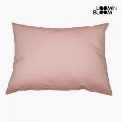 Μαξιλάρι Βαμβάκι και πολυεστέρας Ροζ (50 x 70 x 10 cm) by Loom In Bloom