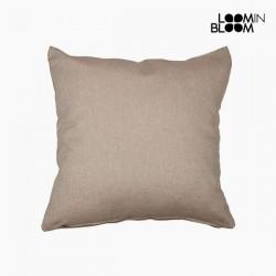 Μαξιλάρι Βαμβάκι και πολυεστέρας Καφέ (60 x 60 x 10 cm) by Loom In Bloom