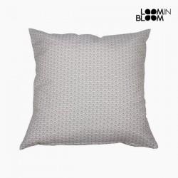 Μαξιλάρι Βαμβάκι και πολυεστέρας Γκρι (60 x 60 x 10 cm) by Loom In Bloom