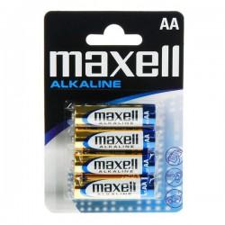 Αλκαλικές Μπαταρίες Maxell 1.5V AA PK4 AA 1,5 V