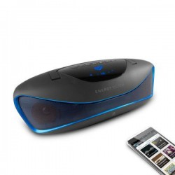 Music Box Bluetooth Energy Sistem 396948 BZ6 MP3+FM+USB Μαύρο Μπλε