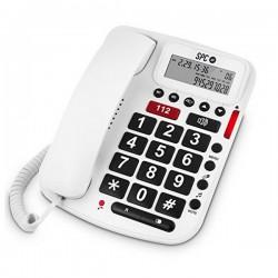 Σταθερό Τηλέφωνο για Ηλικιωμένους SPC 3293B Λευκό