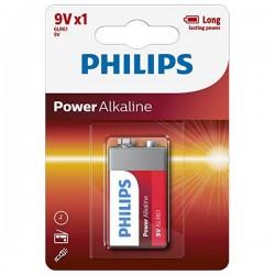 Αλκαλική Μπαταρία Philips 6LR61 9V