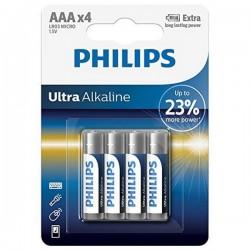 Αλκαλικές Μπαταρίες Philips LR03 AAA LR03 (4 pcs)