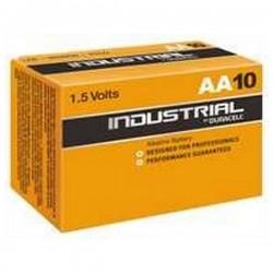 Αλκαλικές Μπαταρίες DURACELL Industrial DURINDLR6C10 LR6 AA 1.5V (10 pcs)