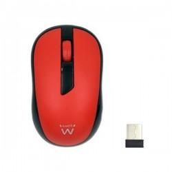 Ασύρματο ποντίκι Ewent EW3226 1000 dpi Κόκκινο