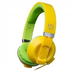 Ακουστικά με Μικρόφωνο Hiditec COOL KIDS WHP010006 Κίτρινο