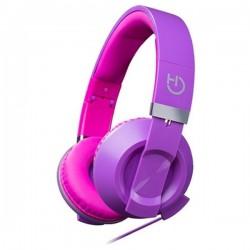 Ακουστικά με Μικρόφωνο Hiditec COOL KIDS WHP010007 Μοβ
