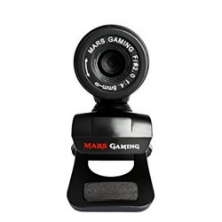 Webcam Gaming Tacens Mars MW1 HD 720p Clip Μαύρο