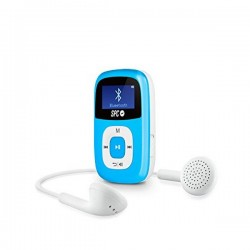 "MP3 SPC MREMMP0337 8668A FIREFLY 1"" 8GB Bluetooth 2.0 Μπλε"