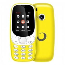 """Κινητό Τηλέφωνο BRIGMTON NTETMO0861 BTM-4-Y Dual SIM Movil Senior 1,7"""" Κίτρινο"""